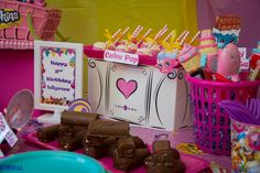 Shopkins candies, birthday treats, home made chocolates, Stillness photo