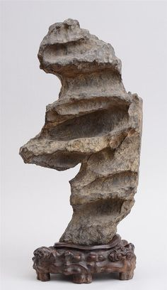 CHINESE SCHOLAR'S STONE - by Stair Galleries