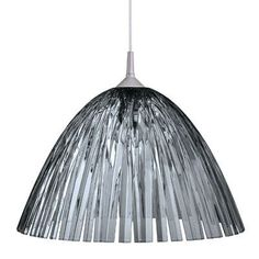 Koziol Reed Ceiling/Hanging Lamp Color: Transparent Gray