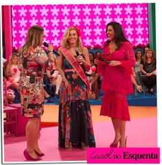 Finally our Sundays have a nice TV show:Esquenta. I LOVE it! I think it's amazing this ability of speaking with all kinds of people that only Regina Casé has. But, let's get to the point here?Car…