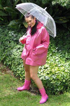 Glass Clear Umbrella