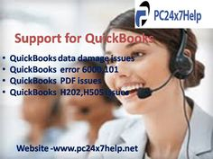 Avail instant solution for QuickBooks related issues such as QuickBooks data damage issues, forgot QuickBooks admin password, QuickBooks installing issues, QuickBooks license key issues, QuickBooks backup issues, QuickBooks printing issues, QuickBooks upgrading issues etc. QuickBooks specialists are always willing to serve you excellent services.