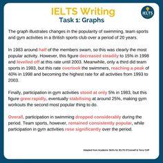 Ielts Writing Task1, Narrative Writing, Opinion Writing, Academic Writing, Teaching Writing, English Grammar Book Pdf, English Exam, English Vocabulary, Teaching English