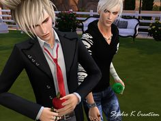 Apple on hand for Male and Female by Karzalee.