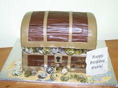 Cakes by Kristen H.: Pirate Treasure Chest Cake