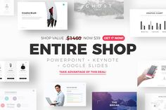 ❖ Get all our Top-Seller presentations for only $39 - PowerPoint + Keynote + Google Slides ❖ ♛ ENTIRE SHOP includes every single presentation we make, now and in the future. ♛ With the purchase of this bundle, you will receive the upcoming updates for FREE so You will NOT need to pay again. Every time we update this item you will receive an email