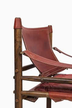 Arne Norell Sirocco chair in rosewood and leather at Studio Schalling