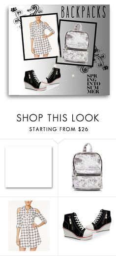 """""""Backpack is IN!"""" by marijana-vitas on Polyvore featuring St. John and Material Girl"""