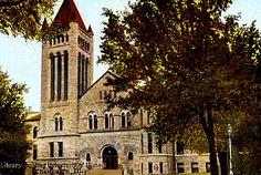 Library, University of Illinois, Champaign, Illinois