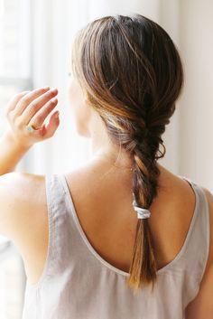 Messy braid #hair #braid