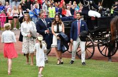 Swedish Royals attend Victoria's Day 2016