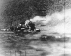 El Harusame (春雨 lluvia primaveral?) fue un destructor de la clase Shiratsuyu. Sirvió en la Armada Imperial Japonesa durante la Segunda Guerra Mundial. Aquí es torpedeado por el submarino USS Wahoo (SS-238)