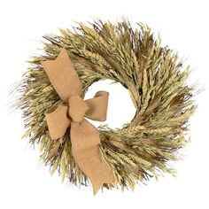 "I pinned this 18"" Preserved Harvest Glow Wreath from the Floral Treasure event at Joss and Main!"