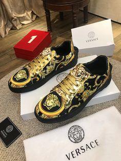 Versace 38-44 8079230 Casual Leather Shoes, Wholesale Shoes, Front Row, Versace, Louis Vuitton, Sneakers, Fashion, Tennis, Moda