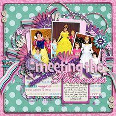 Google Image Result for http://peppermintcreative.com/blog/wp-content/uploads/2012/02/PeppermintCreative-Disney-Scrapbook-036.jpg #Disney #Princess #Scrapbooking