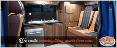 We offer a custom built service for full camper conversions for all types of vans, including Panel Vans, split screen,VW T2, T25, T4 & T5 Transporters and also Citroen, Mercedes, Ford, Mazda and the Nissan Elgrand models. Plus a few others! We have been converting vans since 20xx and our small family business is located in the heart of the West Midlands.