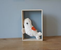 Kuscheltier Robbe // plushie cuddly toy seal via DaWanda.com