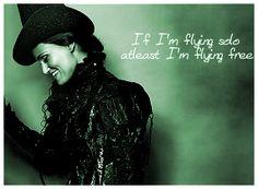 Idina Menzel as Elphaba