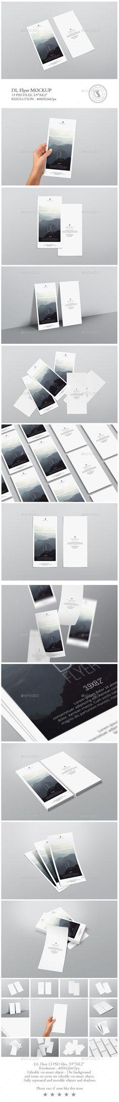 DL Flyer Mockup #design Download: http://graphicriver.net/item/dl-flyer-mockup/14165048?ref=ksioks
