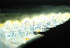 여백을 즐기는 수채화의 대가 [신종식] 화가 : 네이버 블로그 Watercolor, Abstract, Artwork, Blog, Painting, Water Colors, Pen And Wash, Summary, Watercolor Painting