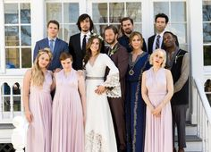 """Season 5 of """"Girls"""" on HBO opens with a wedding."""