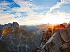 """8. While some tech execs enjoy exotic vacations or yachting around the world, Cook's ideal vacation is """"hiking in Yosemite National Park,"""" writes Lashinsky."""