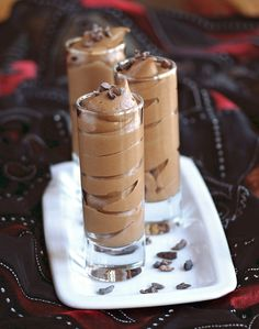 Pumpkin Chocolate Mousse from Diet, Dessert and Dogs blog