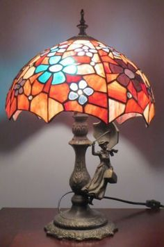 Disney Mary Poppins Stained Glass Lamp // 40th Anniversary