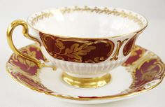 Foley English Fine Bone China Cup and Saucer