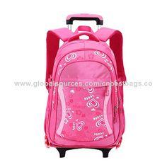 Wholesale Kids' Trolley School Bag with Wheels for Girls School Trolley Bags, School Bags With Wheels, Girls, Wheeled Backpacks, Toddler Girls, Daughters, Maids
