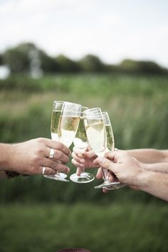 Cheers to togetherness. Happy Thanksgiving.