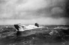 The former German submarine UB 148 at sea, after having been surrendered to the Allies. UB-148, a small coastal submarine, was laid down during the winter of 1917 and 1918 at Bremen, Germany. (US National Archives) - See more at: http://webodysseum.com/history/photos-of-world-war-i-at-sea/#sthash.hdSoIMTD.dpuf