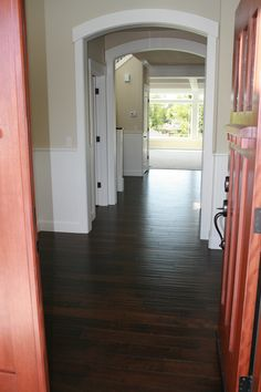 Hand scrapped wide plank wood flooring for your home. #wood flooring #rustic #flooring #handscraped floors