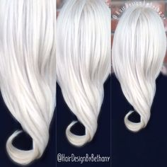 White hair, blond hair, ice blond, Elsa hair, silver hair