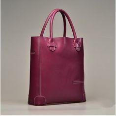 fashion design geuniue cow Leather tote Handbag [00530025]- US$138.00... via Polyvore