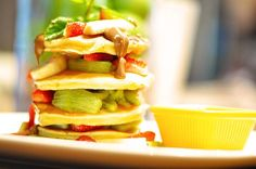 Güne tatlı bir başlangıç için Kaserol'deki 4 Katlı Pancake'imizi mutlaka denemelisiniz :)