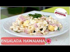 ENSALADA DE CODITO CON MANZANA Y PIÑA ,DELICIOSA RECETA! - YouTube