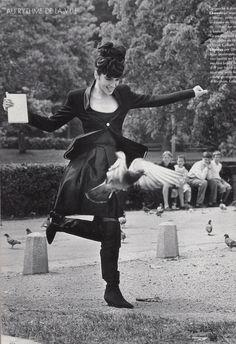 Chanel, L'Officiel - September 1990, Photographed by Michel Berton