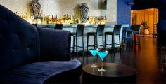 Located in Hotel Encanto, Las Cruces' premier hotel, Azul offers chic sophistication in Southern New Mexico. The bar serves sophisticated cocktails with a wide variety of fine spirits, beers and wines to select from.