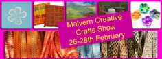 Why not pop along to our Creative Crafts Show in #Malvern, #Worcestershire Fun for all the family