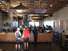 One of the best shops I've visited. The coffee culture is much more developed in SF than NYC.