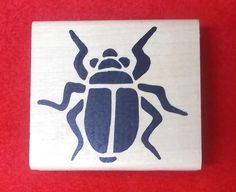 Egyptian scarab beetle rubber stamp hot potatoes fabric stamping paper stamps…