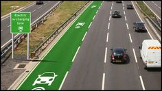 A trial in England is hoping to significantly boost the range of electric cars by introducing roads that can charge the vehicles as they drive along them. Unless you happen to own a Tesla and live… Kia Soul, Journal Du Geek, E Mobility, Windows 95, Self Driving, Driving Tips, Renewable Energy, Solar Energy, Sustainable Architecture