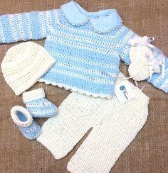 Tejiendo Ilusión (@tejiendoilusion) • Fotos y vídeos de Instagram Crochet For Boys, Instagram, Sweaters, Fashion, Illusions, Tejidos, Bebe, Moda, Fashion Styles