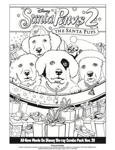 santa paws 2 meet the pups from paw