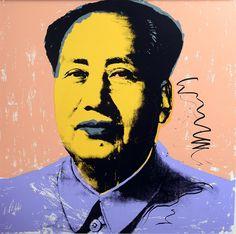 MAO, 1972 II.92 by ANDY WARHOL