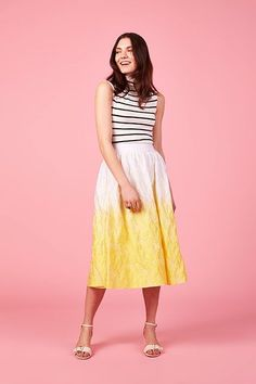 ASOS Just Made Busy Girls Insanely Happy #refinery29  http://www.refinery29.com/method-asos-collaboration#slide-4  ASOS Dip Dye Skirt, $118, available at ASOS.