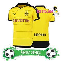 Achat de maillot dortmund 2015 2016 domicile jaune flocage officiel
