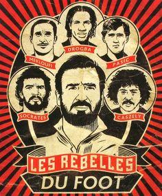 Los rebeldes del fútbol
