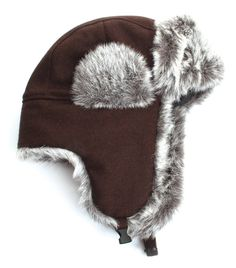 11424daad2f Amazon.com  City Hunter W300 Wool Solid Trapper - Brown  Clothing
